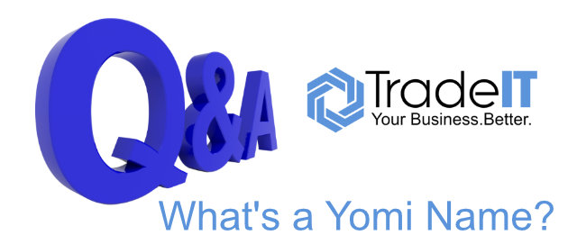 Q&A – Office 365 – Outlook Contacts has fields for Yomi Company and Yomi Name – What is Yomi?