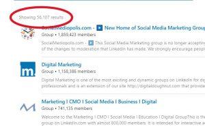 LinkedIn Marketing Groups